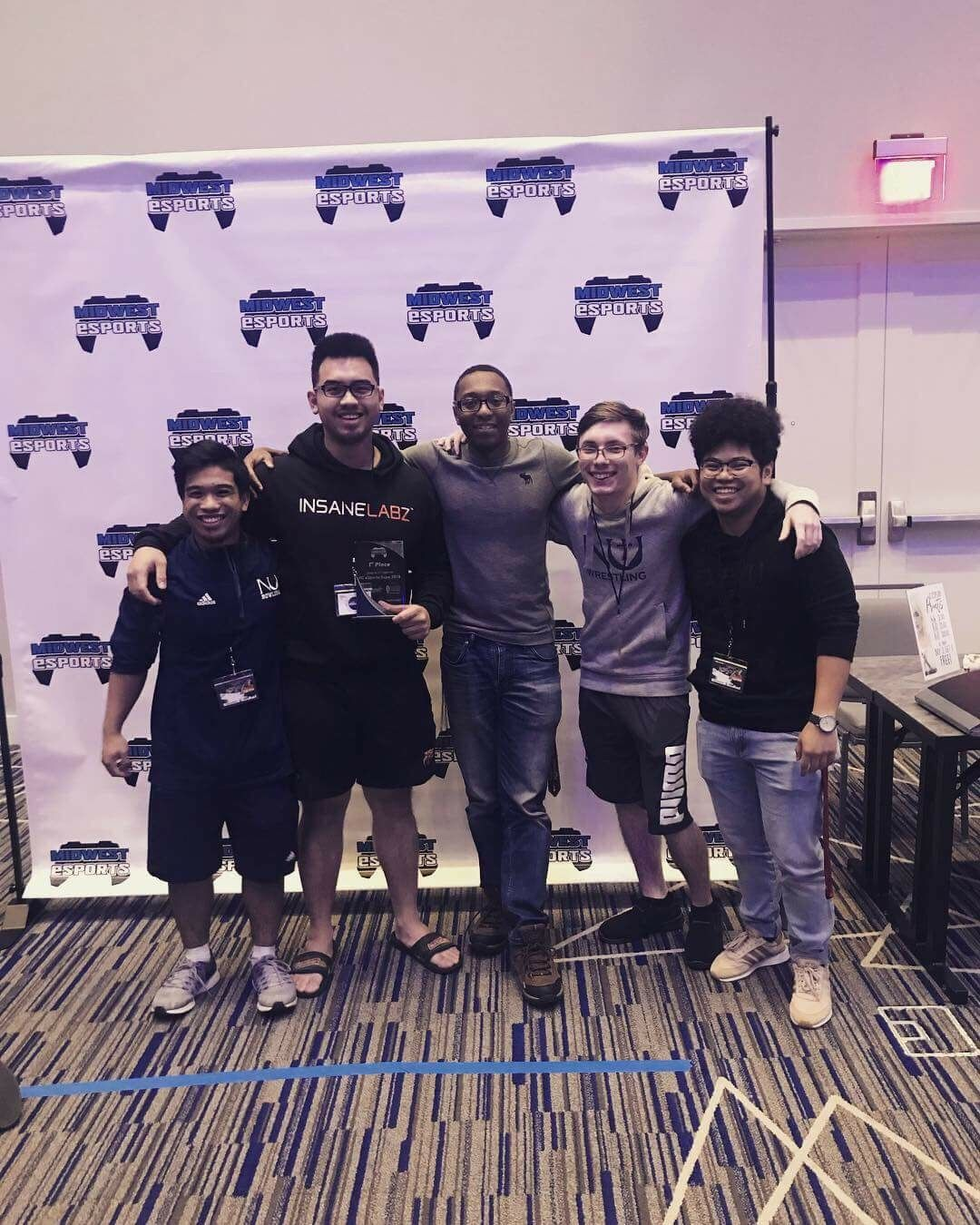 E-sports team dominates first tournament