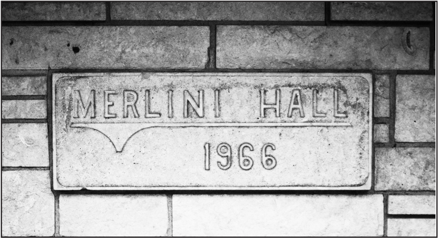 Merlini Hall closed for this academic year
