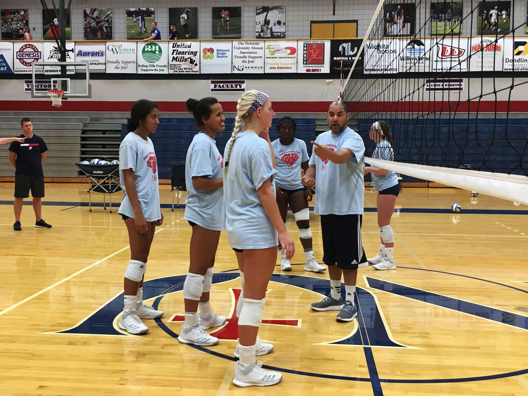 Volleyball starts preseason with new coach