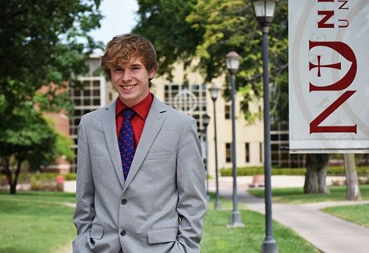 Mr. Newman: Freshman suits up for his first year at Newman