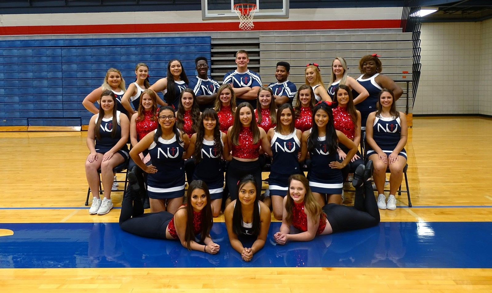 Meet the cheer and dance team: the faces of Jet pride