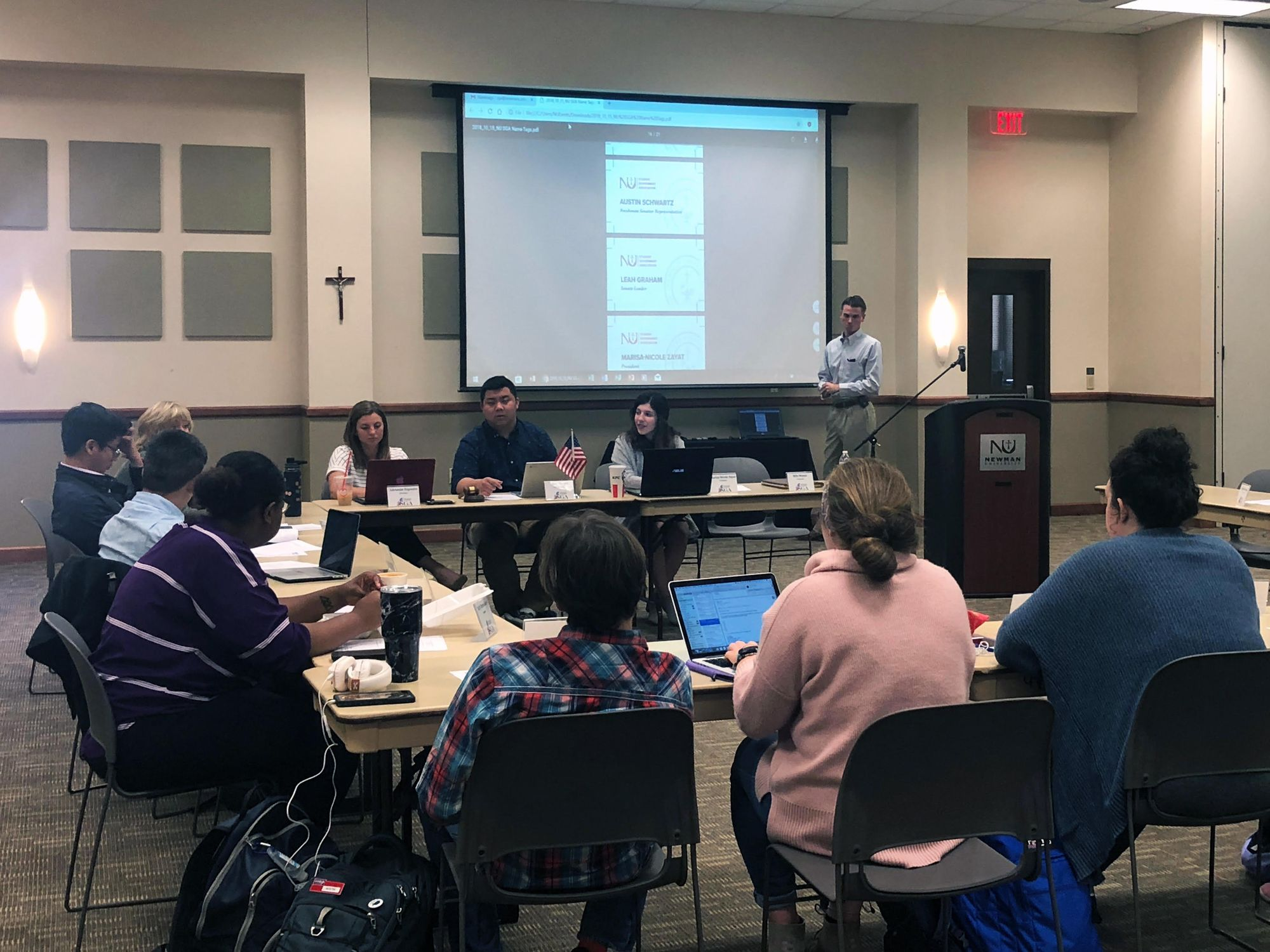 SGA votes to raise the pay for its executive board