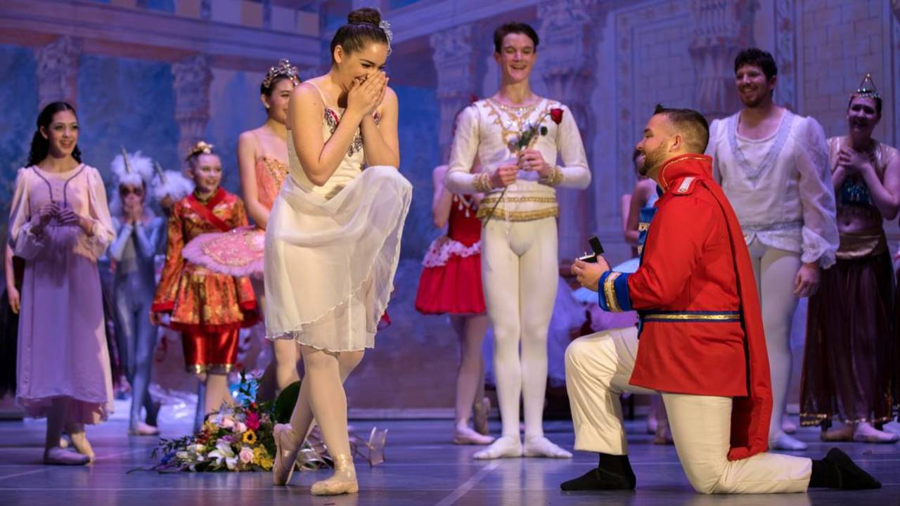 A fairy's dream comes true on the stage