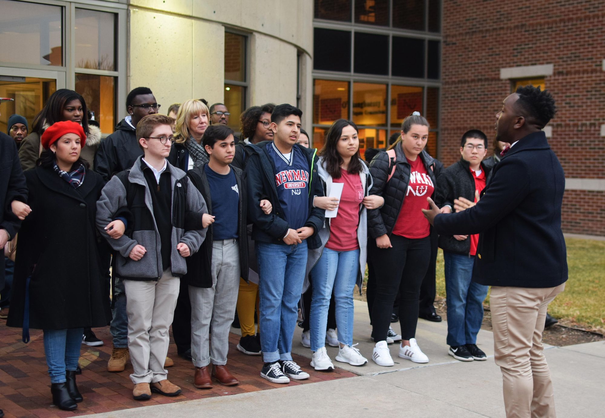 Campus unity march honors Dr. Martin Luther King Jr.