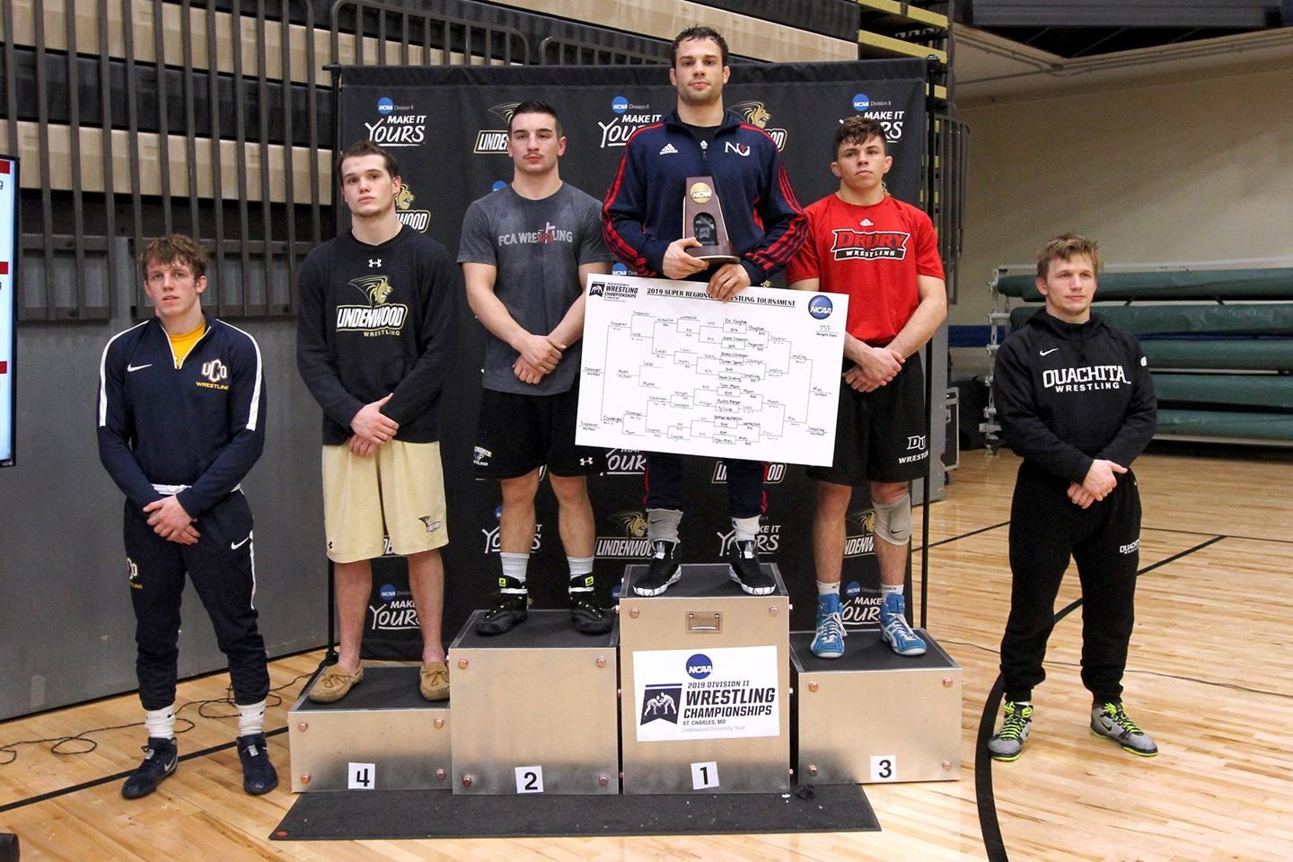 Wrestling finds success at regional tournament