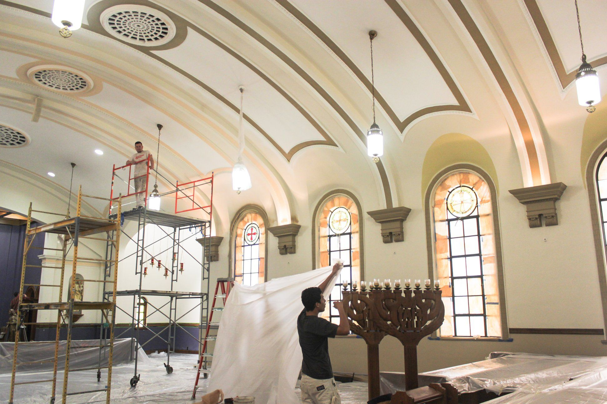 Renovations begin in St. John's Chapel