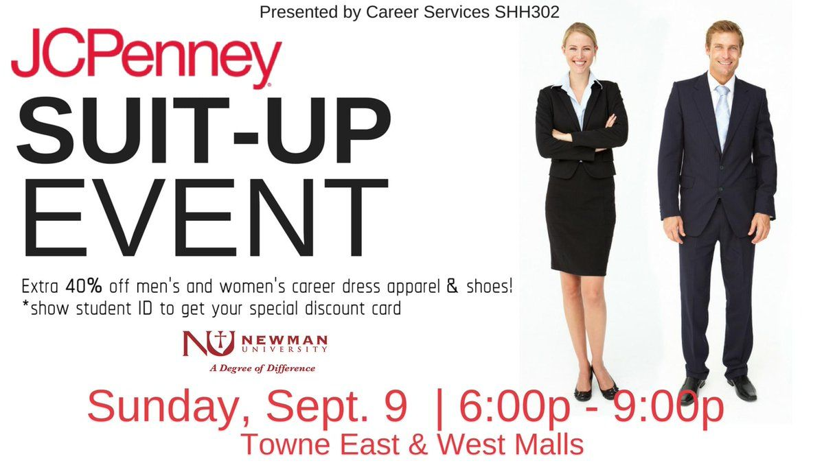 Newman suits up for J.C. Penney & Co. event