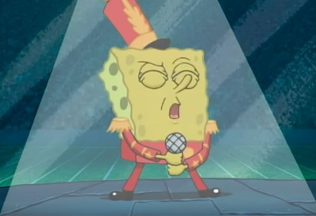 Halftime was a disgrace to Spongebob fans everywhere