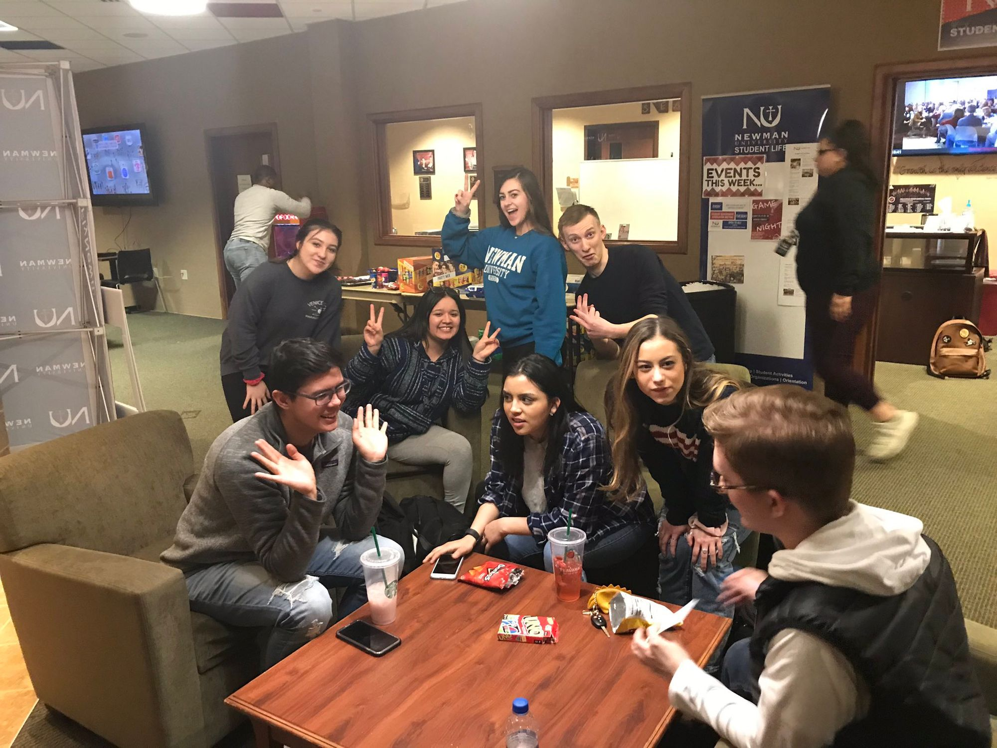 Accepted students gear up for game night