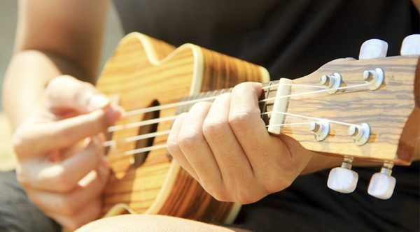 Ukuleles; they're not just for Bob Marley anymore