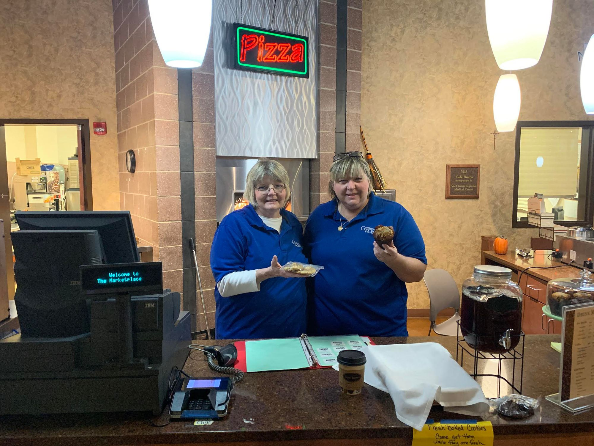 Fresh baked cookies are a hit at The Grind