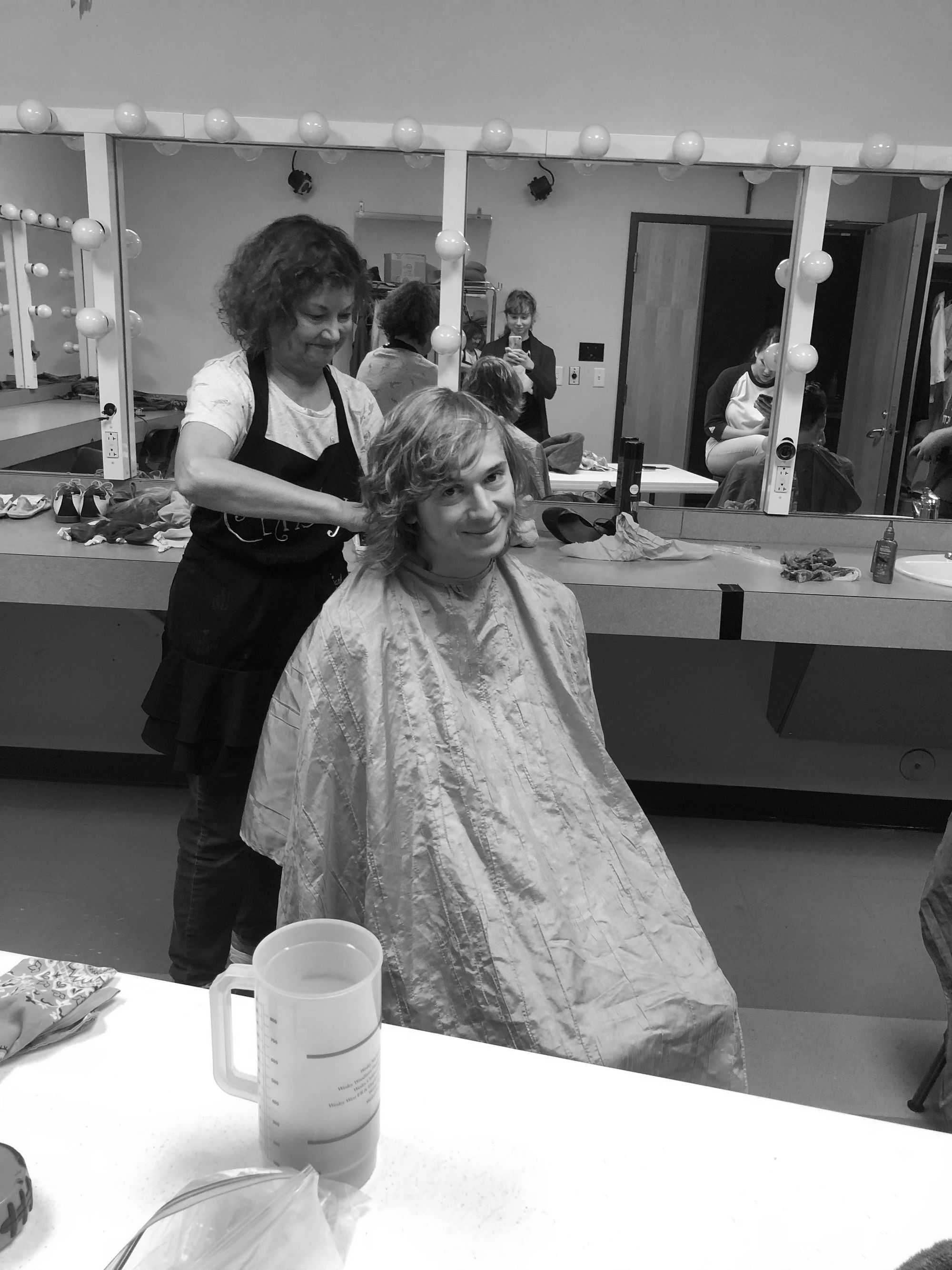 Theatre students agree to cut their hair for play
