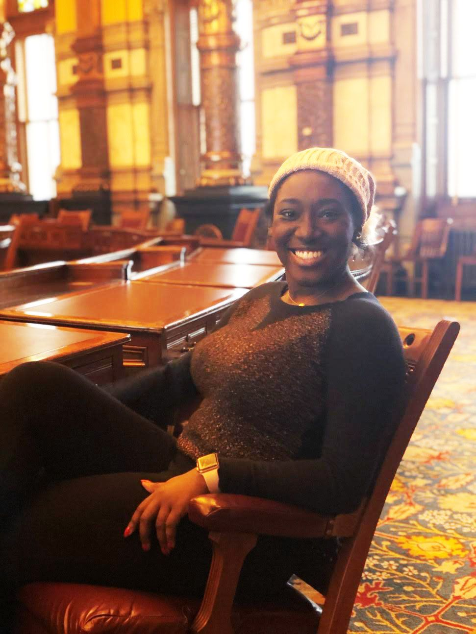 Student is one of four National scholarship recipients