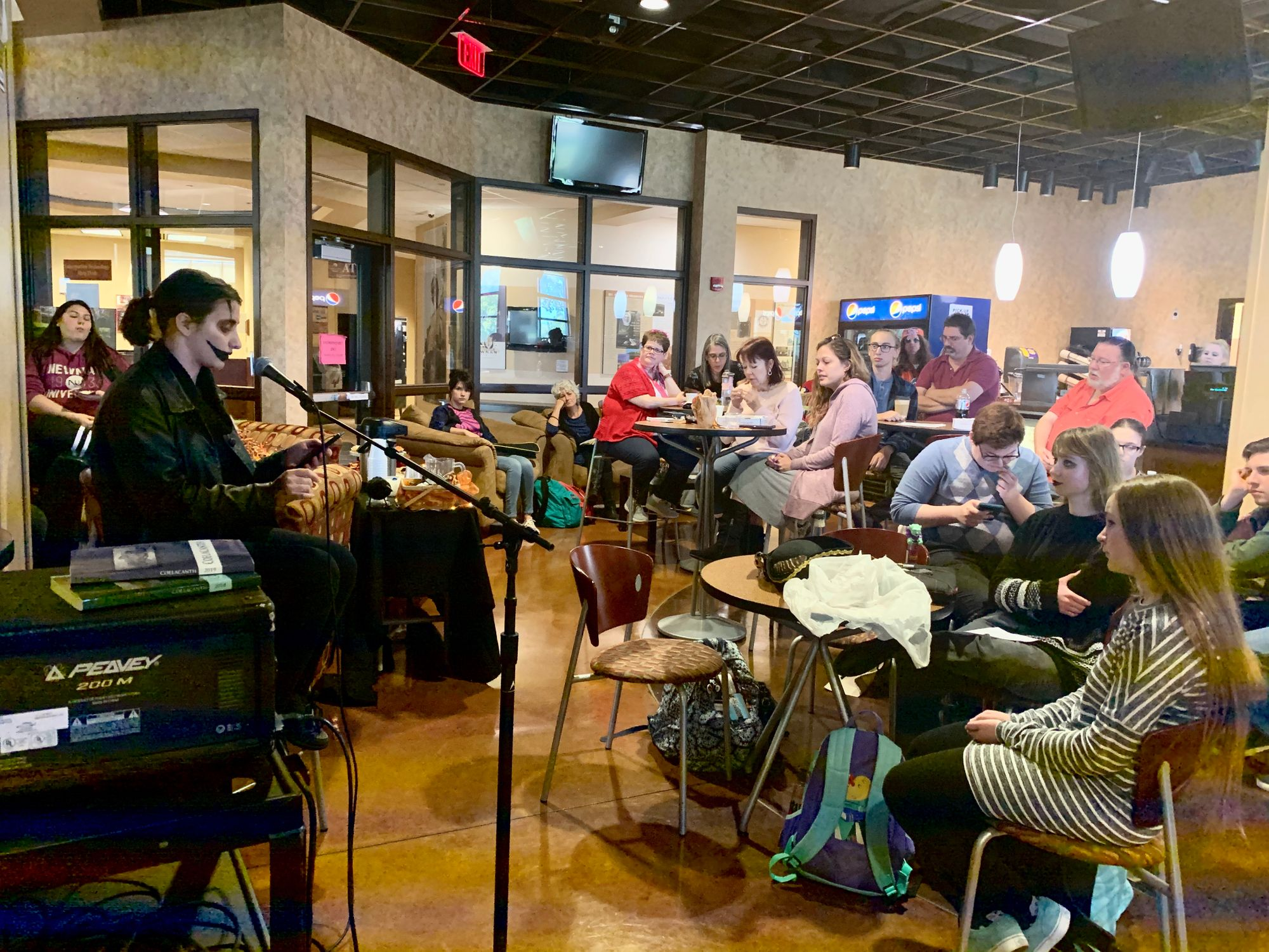 Open Mic is a hit for lit students