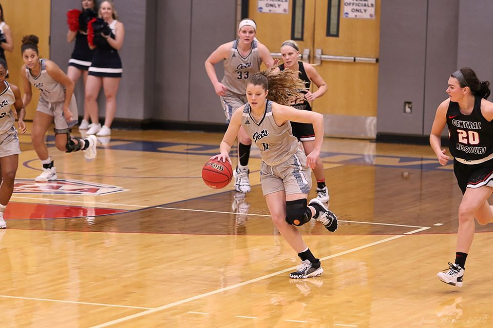 The Lady Jets are 9-11 after loss to Washburn