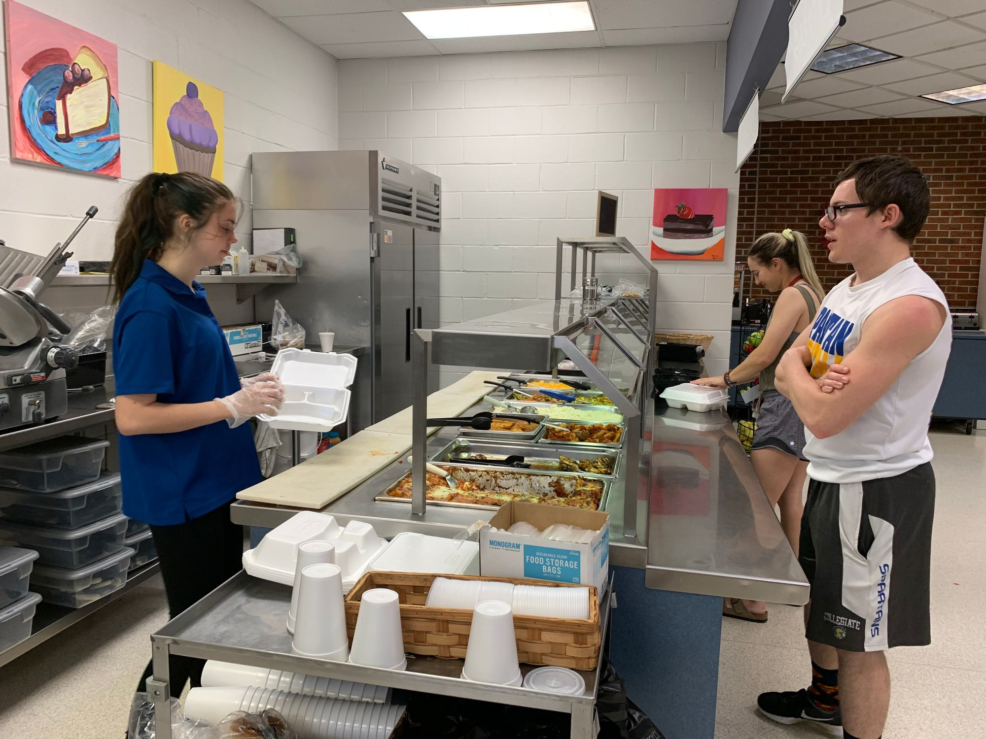 Mabee Dining Center makes changes to protect students