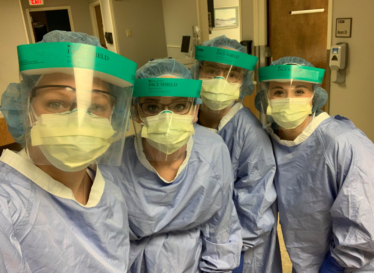 Newman nursing graduates on the front-lines of the COVID-19 pandemic