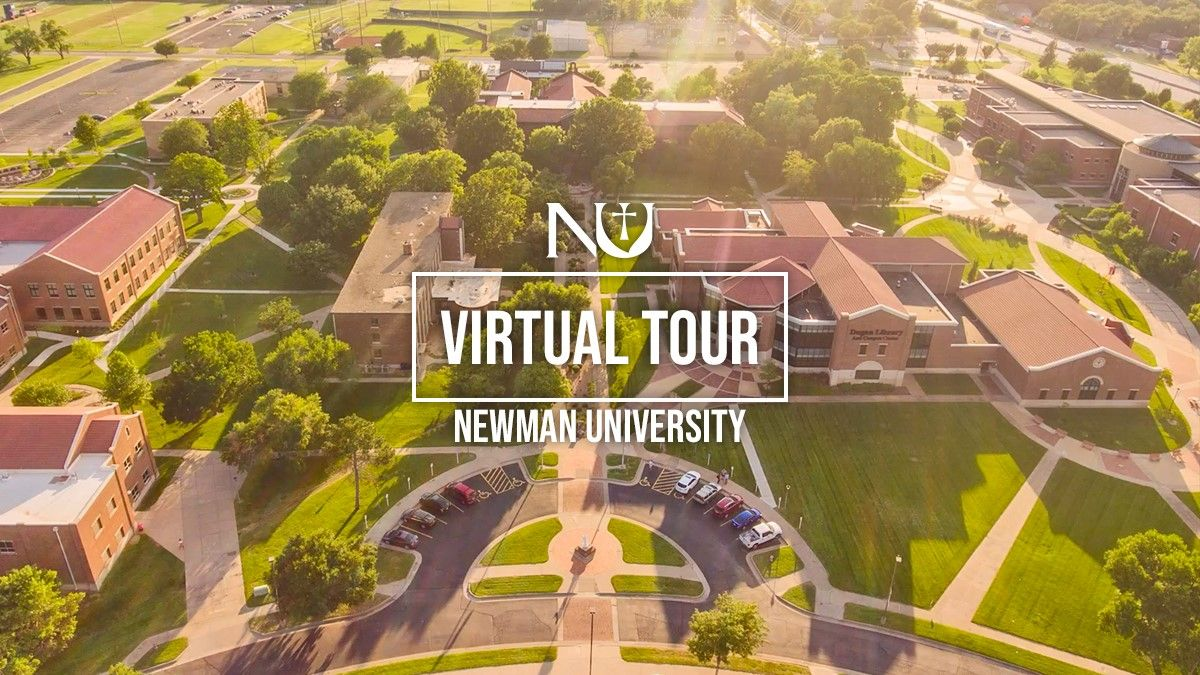 Potential students are Zooming to Newman