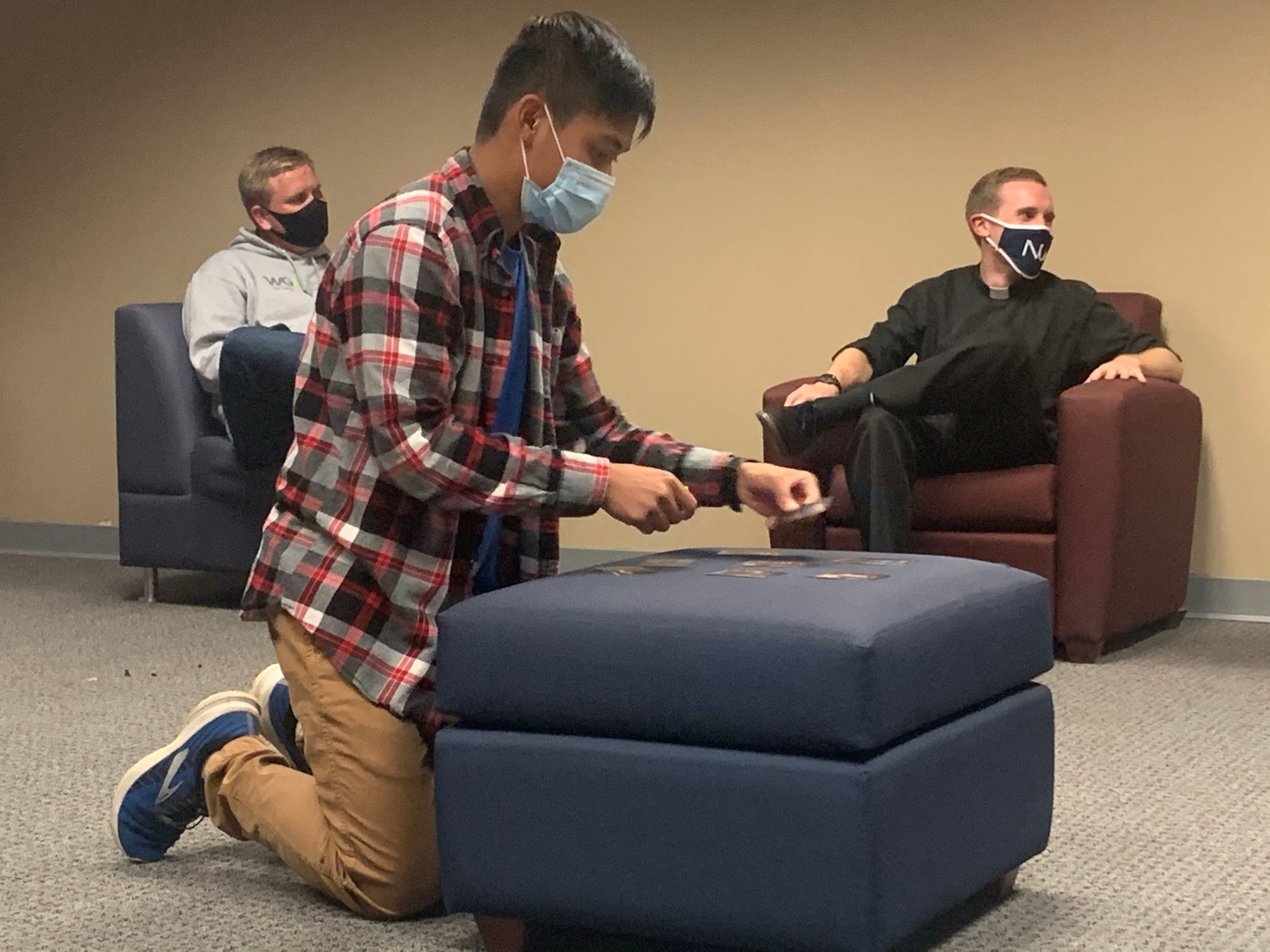 Campus Ministry gets a board and games