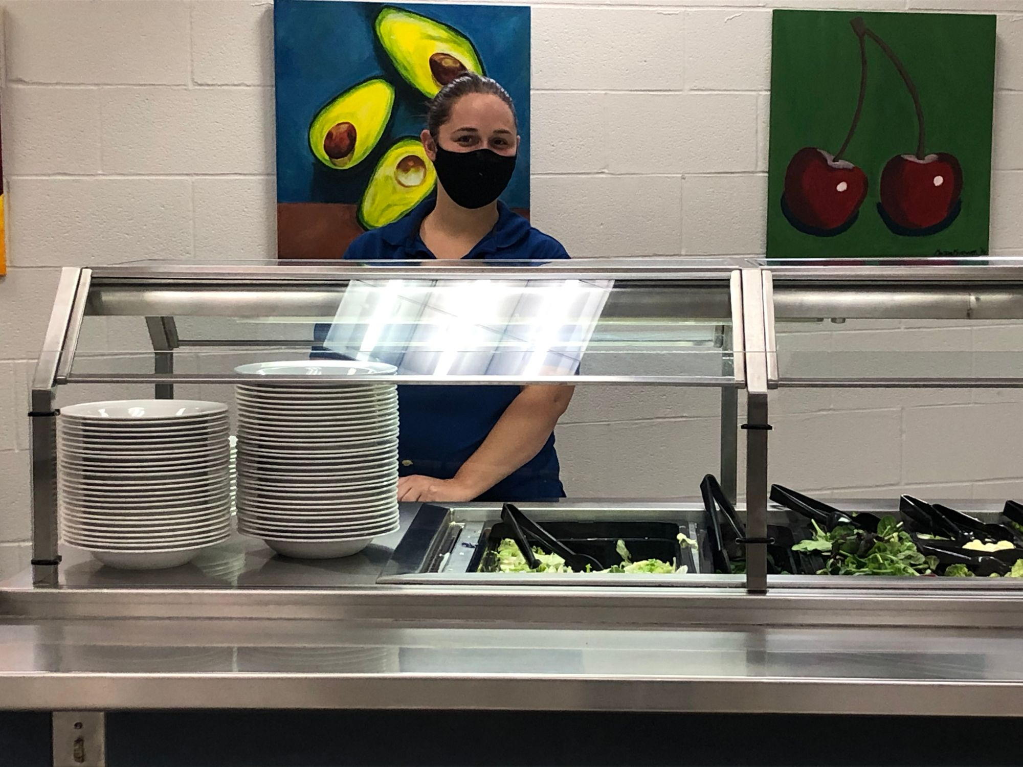 Salad bar in dining center now open, safety still top priority
