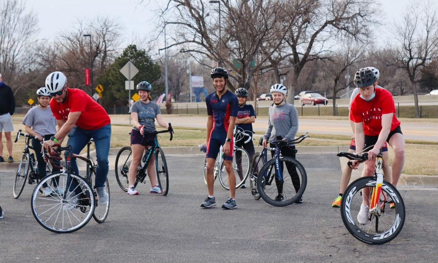 Newman's triathlon team yet to compete since pandemic