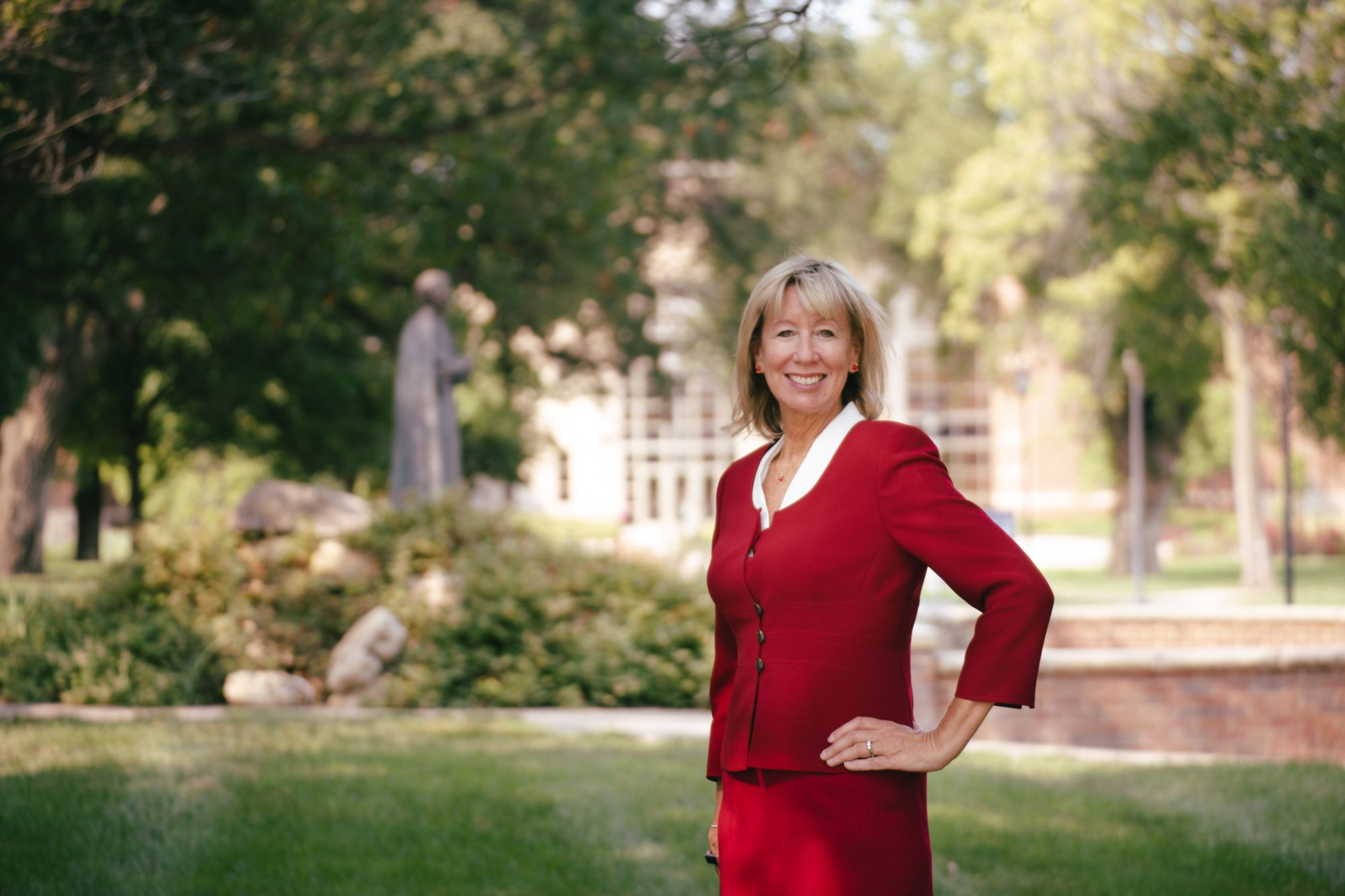 Familiar face on campus accepts new position