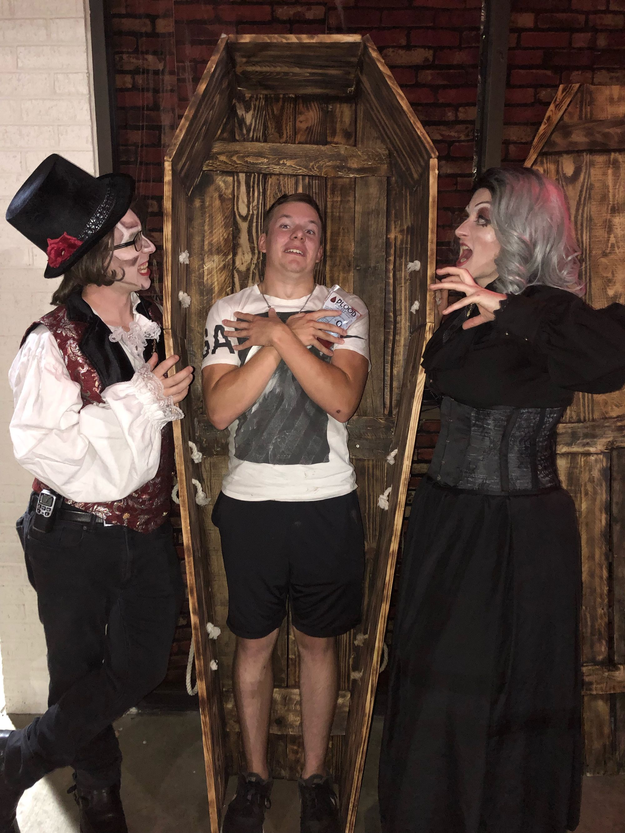Visit Dracula's Castle at the local 'spookeasy' through October